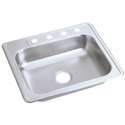 Dayton Sinks : Dayton+Stainless+Steel+Sinks Elkay K125224 Dayton Kingsford Self ...