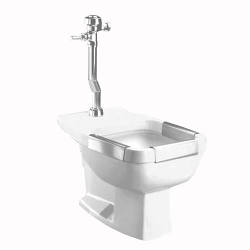 Clinical Service Sink : ... Standard 9504.999.020 Floor-Mount Clinic Service Sink in White