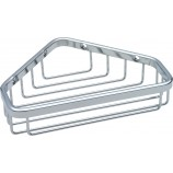 Delta 47000-ST Stainless Steel Small Corner Caddy in Bright Stainless Steel