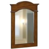 Belle Foret 80053 Single Mirror in Dark Cherry