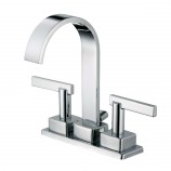 Belle Foret BFL450CP Centerset Two Handle Lavatory Bathroom Sink Faucet in Chrome - HDModel: F70A4201CP