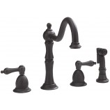 Belle Foret N120 01 ORB Kitchen Faucet in Oil Rubbed Bronze