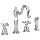 Belle Foret N120 02 CP Kitchen Faucet in Chrome