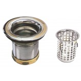 Belle Foret NBBS2 CP Junior Basket Strainer in Chrome