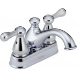 Delta 2578LF-278 Leland Two Handle Centerset Bathroom Faucet in Chrome