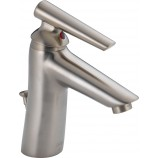 Delta 582LF-SSWFMPU Rizu Single Handle Centerset Bathroom Faucet in Stainless