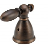 Delta H616RB Victorian Metal Lever Handles (2) for Roman Tub Faucets in Venetian Bronze
