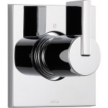 Delta T11853 Vero Single Handle Three Setting Diverter Trim Only in Chrome