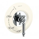 KOHLER K-146-96 Antique Ceramic Dial Plate In Biscuit