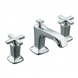 KOHLER K-16232-3-CP Margaux Widespread Lavatory Faucet with Cross Handles in Polished Chrome