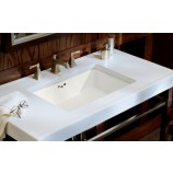 KOHLER K-2297-0 Kathryn Undermount Bathroom Sink in White