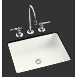 KOHLER K-2330-G-0 Kathryn Undercounter Lavatory with Glazed Underside in White