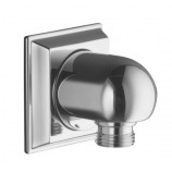 KOHLER K-427-CP Memoirs Wall-Mount Supply Elbow in Polished Chrome