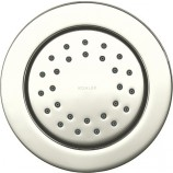 KOHLER K-8013-SN WaterTile Round 27-Nozzle Bodyspray in Polished Nickel