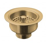 KOHLER K-8799-BV Duostrainer Sink Strainer Less Tailpiece In Brushed Bronze