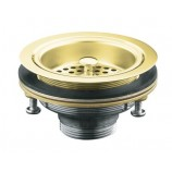 KOHLER K-8799-PB Duostrainer Sink Strainer Less Tailpiece In Polished Brass