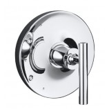 KOHLER K-T14423-4-CP Purist Rite-Temp Valve Trim with Lever Handle in Polished Chrome