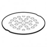 "Moen 101663WR 4 1/4"" Shower Drain Cover in Wrought Iron"
