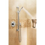 Moen 3887 Level Single-Function Handshower with Slide Bar in Chrome