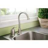 Moen 4905 Camerist Single Handle Bar/Prep Faucet in Chrome