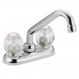 Moen 4975 Chateau Two Handle Laundry Faucet in Chrome