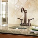 Moen 5994ORB Vestige Two Handle Bar/Prep Faucet in Oil Rubbed Bronze