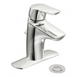 Moen 6810 Method Single Handle Centerset Bathroom Sink Faucet in Chrome