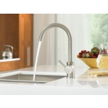 Moen 7100CSL Level Single Handle High Arc Kitchen Faucet in Classic Stainless