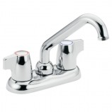Moen 74998 Chateau Two Handle Low Arc Laundry Faucet in Chrome
