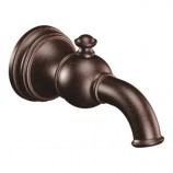 Moen S12104ORB Weymouth Diverter Tub Spout in Oil Rubbed Bronze, Slip Fit