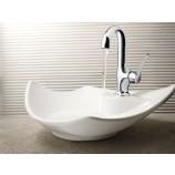 Moen S41707BN Fina Single Handle Bathroom Sink Faucet in Brushed Nickel