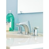 Moen T6820BN Method Two Handle Widespread Bathroom Sink Faucet Trim in Brushed Nickel