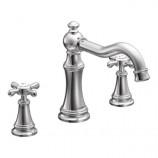 Moen TS22101 Weymouth Two Handle High Arc Roman Tub Faucet Trim in Chrome