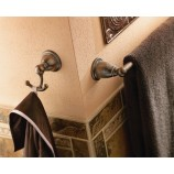 "Moen YB2224ORB Brantford 24"" Towel Bar in Oil Rubbed Bronze"