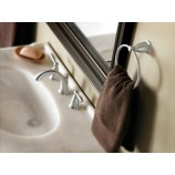 Moen YB2286BN Brantford Towel Ring in Brushed Nickel