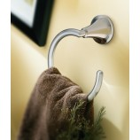 Moen YB5886CH Icon Towel Ring in Chrome
