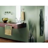 Moen YB5890BN Icon Glass Vanity Shelf with Brushed Nickel Hardware