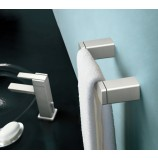 Moen YB8886BN 90 Degree Mini Towel Bar in Brushed Nickel