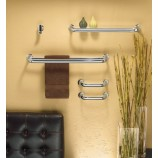 "Moen YB9222CH Fina 24"" Double Towel Bar in Chrome"