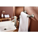 Moen YB9286BN Fina Mini Towel Bar in Brushed Nickel