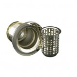 Opella 90125.045 Junior Basket Strainer in Polished Stainless Steel